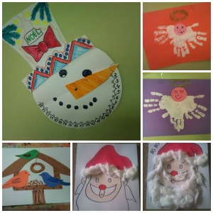 Winter/Weihnachten-Bastelideen. Melmax Melmac 2014.